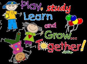 bambini che giocano e fanno altre attività